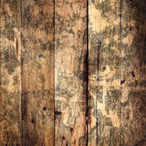 Old  Wood Texture Background. Grunge wooden brown oak textured Stock Image