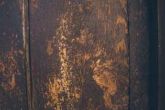 Old wood texture and background. Old wooden door background. Stock Images