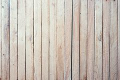 Old wood texture and background in vintage tone. Plank light brown wooden wall background stock image