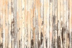 Old wood texture and background in vintage tone. Plank light brown wooden wall background stock photos