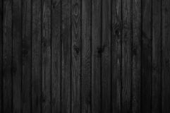 Old wood texture. Black and white Stock Image