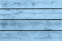 Old wood, texture, blue. Royalty Free Stock Image