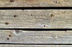 Old wood texture cracked natural brown Royalty Free Stock Photos