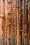 Old wood texture with knot Royalty Free Stock Image