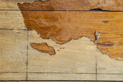 Old wood texture with large crack for retro Royalty Free Stock Photos