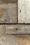 Old wood texture with nail Royalty Free Stock Photos