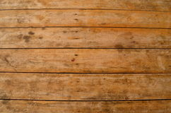 Old wood texture 01. Old wood table that has been in use for a very long time Royalty Free Stock Photos