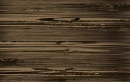 Old wood texture royalty free illustration
