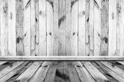old  wood texture wall background in vintage with copy space, to Royalty Free Stock Image