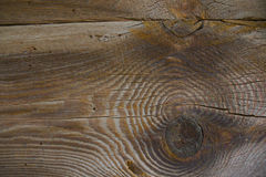 Old wood. The texture of the old wooden beams Stock Photo