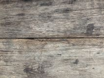 Old wood textured for background.  Royalty Free Stock Image