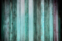 Old wood textured background. With vignette Stock Image