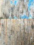 Old wood textures. With blue color Royalty Free Stock Photos