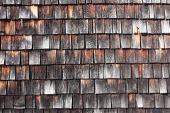 Old wood tiles Stock Image