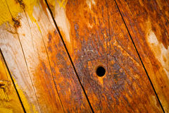 Old wood to a wall Stock Photo