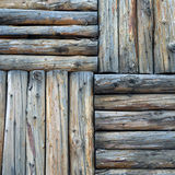 Old wood. Vector wood plank background of Royalty Free Stock Image