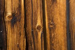 Old Wood From A Very Old House Royalty Free Stock Image