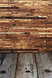 Old wood wall. Can use for background Royalty Free Stock Photography