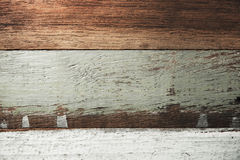 Old wood wall background Stock Images