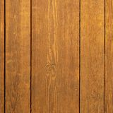 Old wood wall background vertical planks brown Stock Images