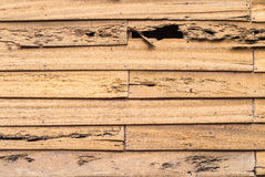 Old Wood Wall. Horizontal background Royalty Free Stock Photography