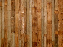 Old wood wall. Old wood plank texture assembled vertically Stock Image