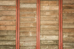 Old Wood Wall For text and background Stock Image