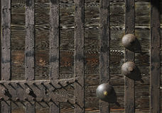 Old wood wall texture Royalty Free Stock Photos