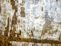 Old wood with white paint pattern texture Stock Image