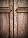 Old wood window Stock Photography