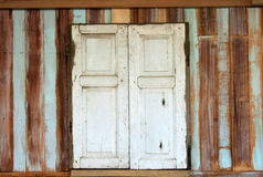 Old wood window Royalty Free Stock Photos