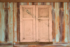 Old wood window Royalty Free Stock Photography
