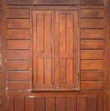 Wood window Royalty Free Stock Image