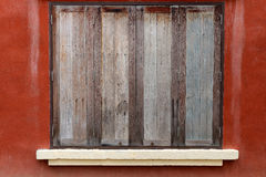 Old wood window. Retro style royalty free stock images