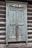Old wood window shutters Royalty Free Stock Photos