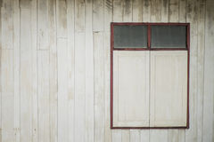 An old wood Window white paint and grunge Royalty Free Stock Photo