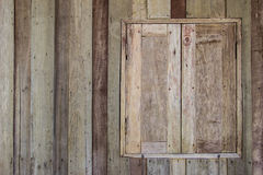 Old wood window Royalty Free Stock Images