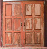Old wood windows Royalty Free Stock Photos