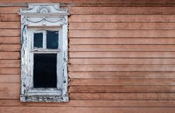 Old wood windows Stock Images
