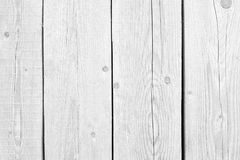 White old wood or wooden vintage plank floor or wall surface background decorative pattern. A minimal tabletop cover, simple mater. Old wood or wooden vintage stock photography