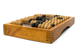 Old wooden abacus. Royalty Free Stock Photography