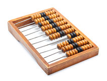Old wooden abacus Stock Photography