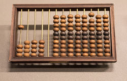 Old wooden  abacus  Royalty Free Stock Photos