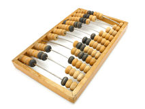 Old wooden abacus close up Royalty Free Stock Photography