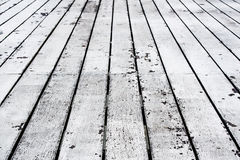 Old wooden aged floor Stock Photo