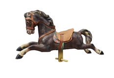 Free Old Wooden And Vintage Carousel Horse Stock Photo - 53621410