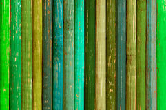 Old wooden background. Old wooden background from multicoloured planks Royalty Free Stock Photos