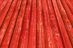 Old wooden background. Old painted wooden planks close-up, may be used as background Royalty Free Stock Photo