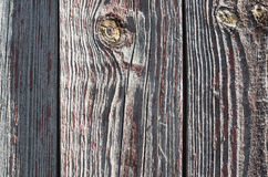 Old wooden background. Background old dyed shabby texture wood with knots Royalty Free Stock Images