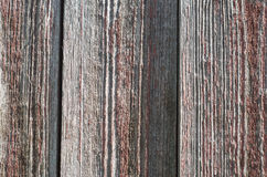 Old wooden background. Background old dyed shabby texture wood with knots Stock Photography